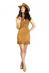 Cowgirl Cowboykleid Damencowboy Western 34 36/38 40/42 44/46