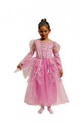 Prinzessin Kinderprinzessin rosa Größe 98 bis 152