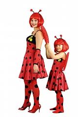 Kostüm Käferchen Faschingskostüm für Kinder Karnevalsparty Kinderfest