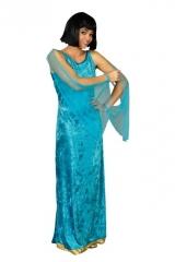 Kleid Ägypterin Faschingskostüm Damenverkleidung Kostümfest Karneval