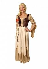 Mittelalter Kleid Baronin Freifrau Magd Karneval Fasching Kostüm