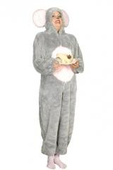 Maus Overall Tierkostüm Faschingsverkleidung Kostümfest Mottoparty