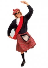 Schottenrock Schotte Karneval Fasching Party