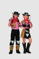 Cowgirl Wilder Westen Kinderfasching Karneval