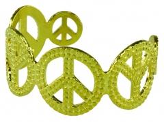 Peacezeichen Armband Peace Hippie Flower Power 70er Jahre Siebziger