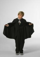 Umhang Schwarz, Kostüm, Dracula, Fasching, Halloween