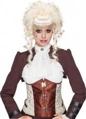 Blonde Perücke Lina Steampunk Saloongirl Barock Rokoko Mittelalter