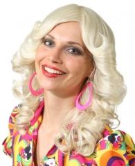 Damenperücke Carmen Hippieperücke 70er Jahre Accessoires Mottoparty
