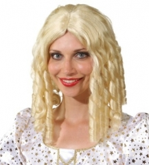 Perücke Holly blond Damenperücke Locken Kostümfest Fasching Mottoparty
