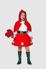 Rotkäppchen Kinderkostüm Kinderfasching Karneval