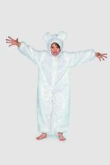 Bär Bärenkostüm Eisbär Tierkostüm Tieroverall
