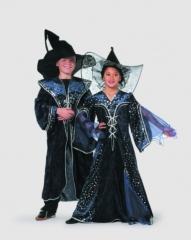 Zauberer Sterne Umhang Kinderkostüm Kinderfasching Kinderparty Geburts