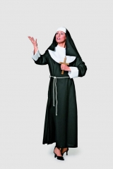 Nonne Ordensschwester Kostüm Karneval Fasching Motto