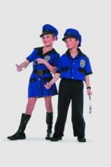 Police Boy Kinderkostüm Kinderfasching Kinderparty Faschingskostüm
