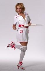 Krankenschwester Karneval Fasching Mottoparty Kostüm