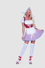 Sexy Holländerin Frau Antje Karneval Fasching Mottoparty