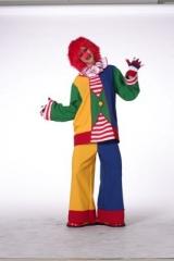 Clown Damenkostüm Fasching Karneval Mottoparty Zirkus