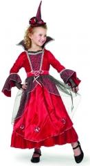 Prinzessin rot luxe Kinderkostüm Kinderparty Kinderfasching Kindergebu