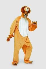 Löwe Tierkostüm Herrenkostüm Fasching Karneval Motto