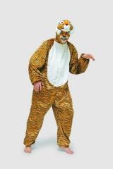 Tiger Tierkostüm Herrenkostüm Fasching Karneval Motto