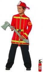 Feuerwehr Feuerwehrjacke Kinder Feuerwehrmann