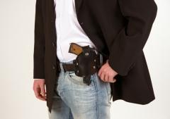Polizeigürtelholster Accessoires Zubehör Karneval