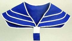 Matrosenkragen blau Sailor Seemann Matrose Karneval Fasching Kostüm