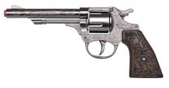 8-Schuss-Revolver Cowboy Cowboygewehr Wilder Westen Zubehör Pistole