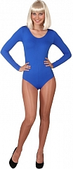 Body Tanzanzug Gymnastikanzug blau Größe 36/40 40/44 100% Nylon Bodysu