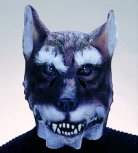 Wolf Werwolf Maske Halloween Karneval Fasching Party