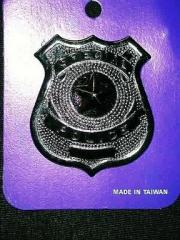 Polizei Polizeimarke Special Police Metall Karneval Fasching Kostüm