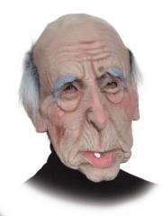 Maske Opa Greis Großvater Uropa Faschingszubehör Karnevalsmaske