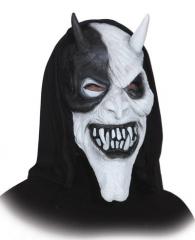 Überziehmaske Teufel Halloween Gruselmaske Maske Karneval