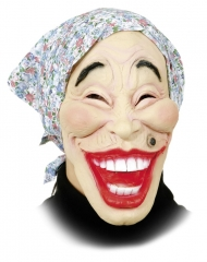 Putzfrau Oma Maske Karneval Fasching Kostüm Party
