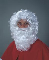 Weihnachtsmann Nikolaus Santa Claus langer Rauschebart