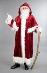 Mantel mit Pellerine Weihnachtsmantel Nikolausmantel Nostalgisch Deuts