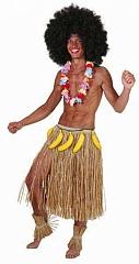 Bastrock Hawaii Strandparty Südsee Komplett Kostüm Karneval