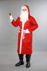 Nikolaus Weihnachtsmann preisgünstiger Filzmantel mit Kaputze