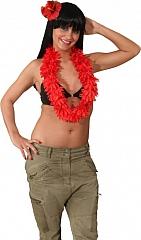Hawaii Kette mit Haarclip Mottoparty Sommerfest Hawaiiparty Zubehör