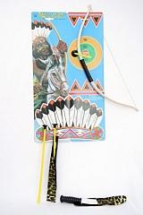 Indianer Bogenset klein Fasching Karneval Mottoparty