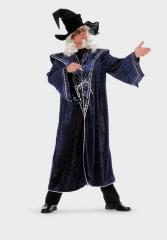 Zauberer Hexer Mantel Karneval Fasching Kostüm