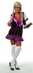 Schoolgirl Damenkostüm Faschingskostüm Karneval Mottoparty Schulmädche