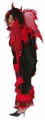Teufelsflügel Vampir De Luxe Luzifer Karneval Halloween