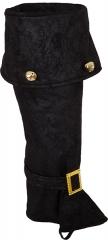 Stiefelstulpen mit Glöckchen Stiefelgamaschen Nikolaus Weihnachtsmann