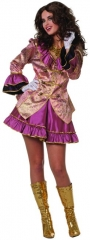 Piratin Brocade Damenkostüm Seeräuberin Faschingskostüm Karneval