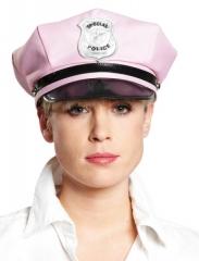 Polizeimütze rosa/pink Junggesellenabschied Karneval Fasching Party