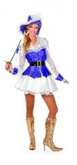 Musketier Piratin Karneval Fasching sexy Kostüm Fasching 38