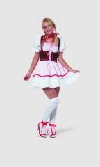 Biermädchen rose Oktoberfest Wiesn Dirndl Bayernmädchen