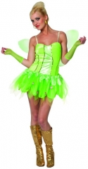 Elfe Wiesenfee Grüne Fee Fabelwesen Karneval Fasching Party