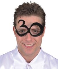Geburtstagsbrille runder Geburtstag 30 40 50 60 Brille Jahreszahl